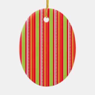 172__busan-beach-2-paper-2 STRIPES PATTERN ORANGES Ornaments