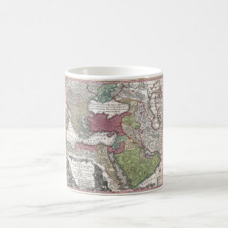 1730 Seutter Map of Turkey (Ottoman Empire) Coffee Mug