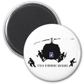 173rd AIRBORNE BRIGADE 6 Cm Round Magnet