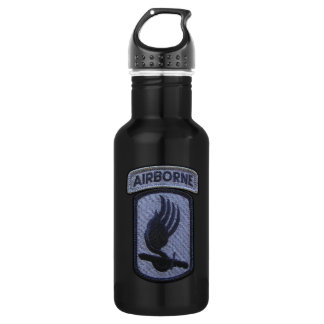 173rd Airborne Brigade ACU Patch 532 Ml Water Bottle