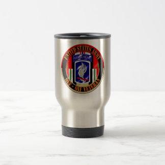 173rd Airborne Brigade Combat Team OEF OIF Veteran Stainless Steel Travel Mug