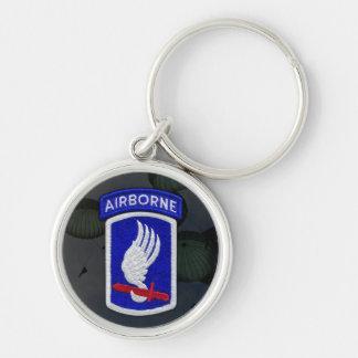 173rd Airborne Brigade Patch Keychain
