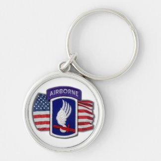 173rd airborne Brigade patch veterans Keychain