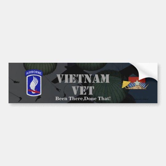 173rd airborne brigade vietnam war bumper sticker