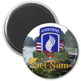 173rd airborne brigade vietnam war vets Magnet Refrigerator Magnets