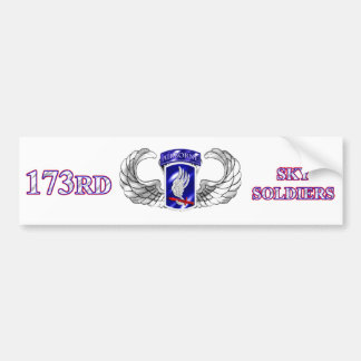 173rd bumper sticker