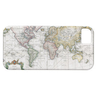 1748 World Map Case For The iPhone 5