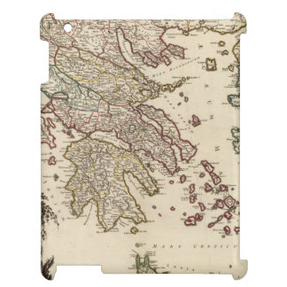 1752 Map of Ancient Greece iPad Cover