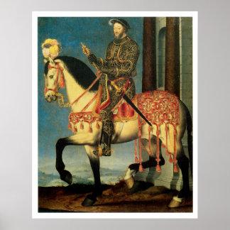 1762 Fancy Horse Vintage Art Print Poster