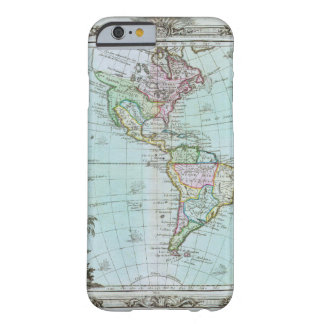 1764 Map of the Americas by Louis Brion de la Tour Barely There iPhone 6 Case