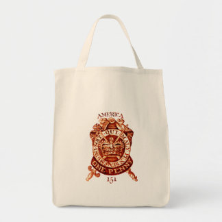 1765 American Tax Stamp Bags