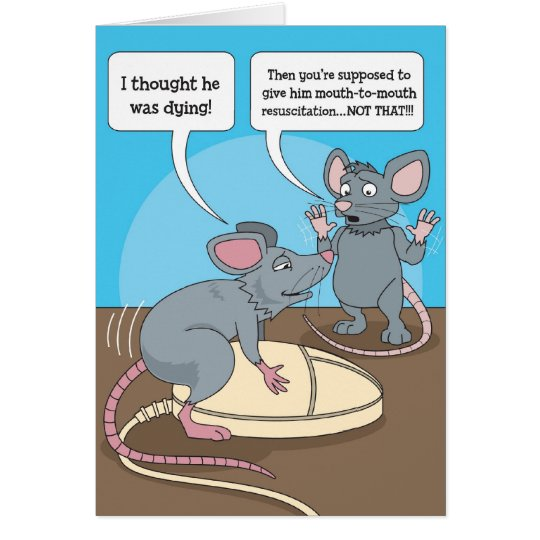 #176 Mice Any Occassion Card