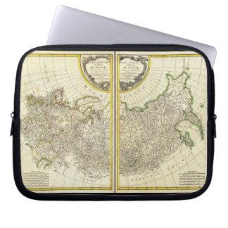 1771 Rigobert Bonne Map of Russia Laptop Computer Sleeve