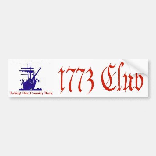 1773 Club Bumper Sticker