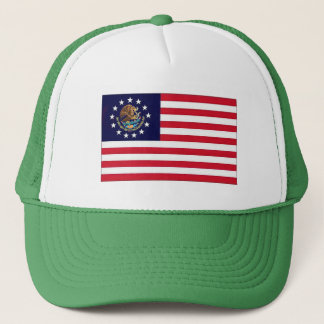 1776 American Mexican Flag Hat