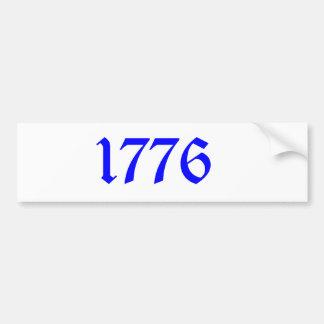 1776 BUMPER STICKER