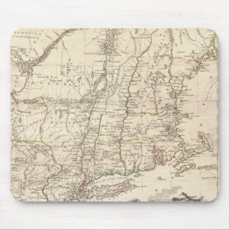 1777 Map of New England Mouse Pads