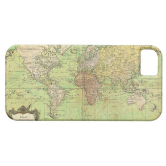 1778 Bellin Nautical Chart or Map of the World Case For The iPhone 5