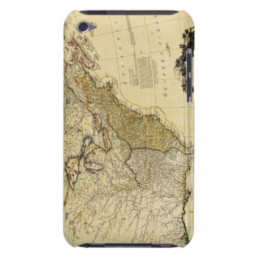 1784 Map of the United States of America by Faden iPod Touch Cover