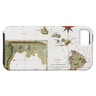 1787 Hawaii Map iPhone 5 Case