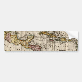 1790 Map of The West Indies by Dilly and Robinson Bumper Sticker