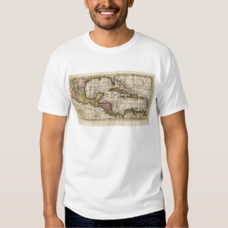1790 Map of The West Indies by Dilly and Robinson Tee Shirts