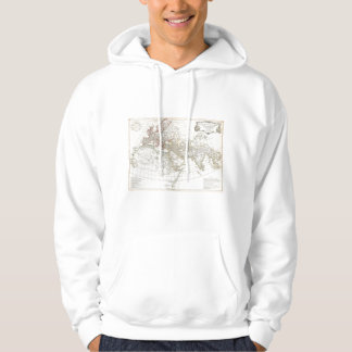 1794 Anville Map of the Ancient World Hooded Pullover