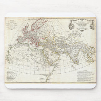 1794 Anville Map of the Ancient World Mousepads