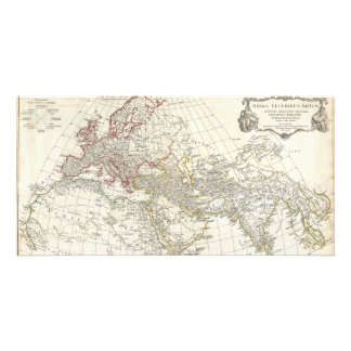 1794 Anville Map of the Ancient World Photo Card Template