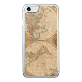 1794 Double Hemisphere Map Carved iPhone 8/7 Case