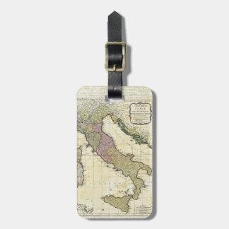 1794 Jean Baptiste Bourguignon D'Anville Italy Map Bag Tag
