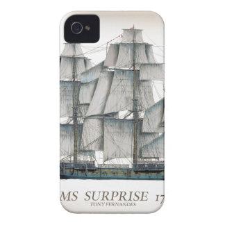 1796 HMS Surprise aged iPhone 4 Case