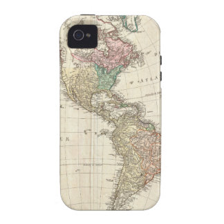 1796 Mannert Map of North and South America Case-Mate iPhone 4 Cases