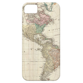 1796 Mannert Map of North and South America iPhone 5 Cases
