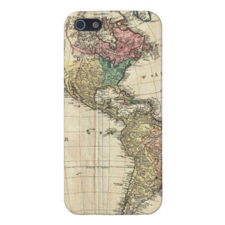 1796 Mannert Map of North and South America iPhone 5 Covers