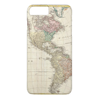 1796 Mannert Map of North and South America iPhone 7 Plus Case