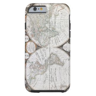 1799 World Map Tough iPhone 6 Case