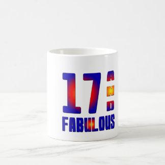 17 And Fabulous Basic White Mug