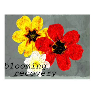17 Blooming Recovery Postcard