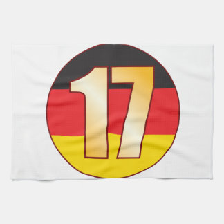 17 GERMANY Gold Hand Towels