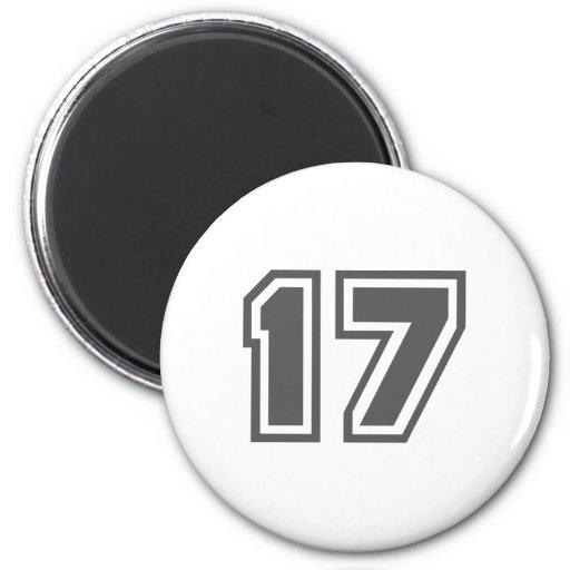 17 REFRIGERATOR MAGNETS