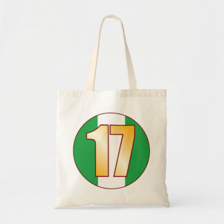 17 NIGERIA Gold Tote Bag