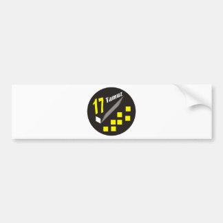 17 Tamuz Bumper Stickers