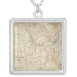 17 Waterbury sheet Silver Plated Necklace