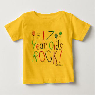 17 Year Olds Rock ! T Shirts