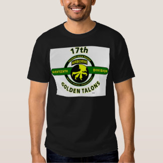 """17TH AIRBORNE DIVISION """"THUNDER FROM HEAVEN"""" TSHIRT"""