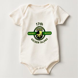 """17TH AIRBORNE DIVISION """"THUNDER FROM HEAVEN"""" BABY CREEPER"""