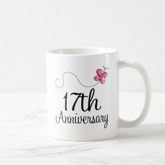 17th Anniversary Coffee Mugs