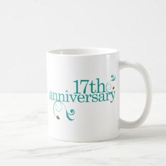 17th Anniversary Mug
