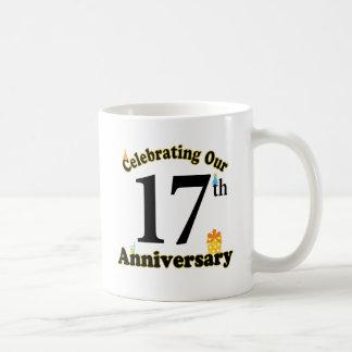 17th Anniversary Mugs